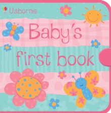 Image for Usborne Baby's First Book Pink Cloth Book