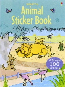 Image for Animal Sticker Book with Stickers