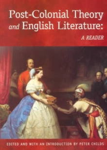 Image for Post-colonial theory and English literature  : a reader