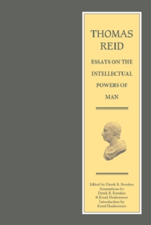 Image for Essays on the intellectual powers of man  : a critical edition