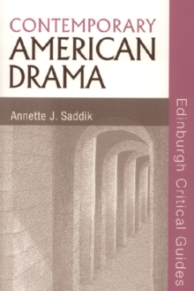 Image for Contemporary American drama