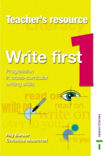 Image for Write First