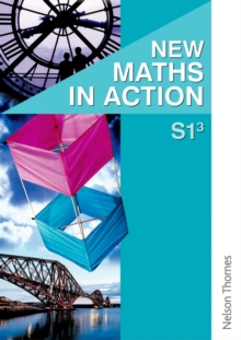 Image for New maths in actionS1/3