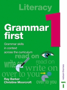 Image for Grammar first: Student book 1