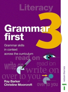 Image for Grammar first: Student book 3