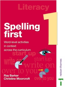 Image for Spelling first: Student book 1