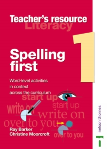 Image for Spelling first: Teacher file