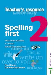 Image for Spelling first: Teacher book 2