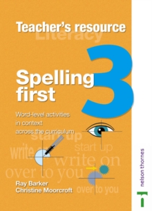 Image for Spelling first: Teacher book 3