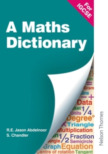Image for A Mathematical Dictionary for IGCSE