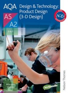 Image for AQA design & technology  : product design (3-D design)