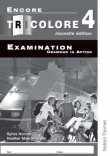 Image for Encore Tricolore Nouvelle 4 Grammar in Action Pack (x8)