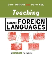 Image for Teaching modern foreign languages  : a handbook for teachers