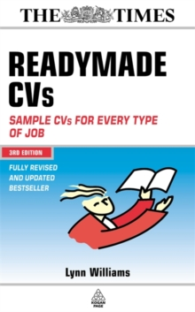 Image for Readymade CVs  : sample CVs for every type of job