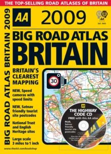 Image for AA big road atlas Britain 2009