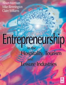 Image for Entrepreneurship in the hospitality, tourism and leisure industries