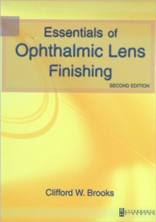 Image for Essentials for ophthalmic lens work