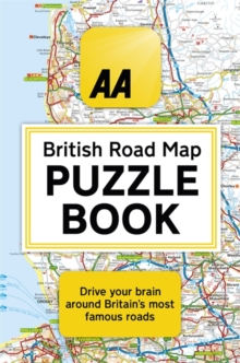 Image for The AA British road map puzzle book