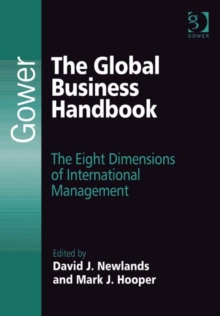 Image for The global business handbook: the eight dimensions of international management