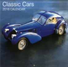 Image for Classic Cars 2016 Calendar