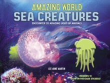 Image for Amazing World Sea Creatures : Encounter 20 Amazing Light-Up Animals--Includes 13 Glow-In-The-Dark Stickers!