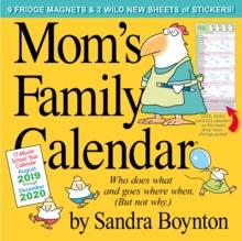 Image for Mum'S Family Calendar by Sandra Boynton 2020 Square Family Organiser