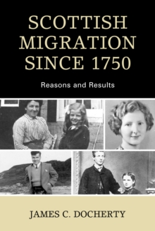 Image for Scottish migration since 1750  : reasons and results