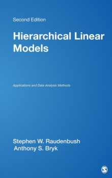 Image for Hierarchical linear models  : applications and data analysis methods