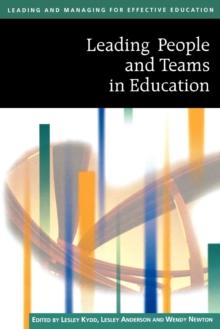 Image for Leading people and teams in education