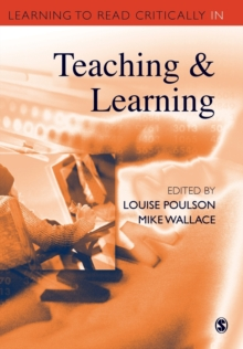 Image for Learning to read critically in teaching and learning