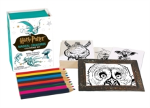 Image for Harry Potter Magical Creatures Coloring Kit