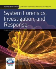 Image for System forensics, investigation, and response
