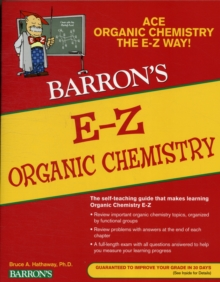 Image for E-Z organic chemistry