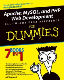 Image for Apache, MySQL, and PHP web development all-in-one desk reference for dummies