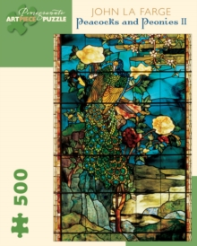 Image for Peacocks and Peonies II 500-Piece Jigsaw Puzzle
