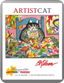 B. Kliban Artistcat 100-Piece Jigsaw Puzzle