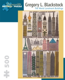 Gregory L. Blackstock  the World Landmark Buildings 500-Piece Jigsaw Puzzle