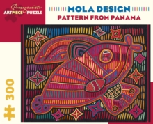 Mola Design Pattern from Panama 300-Piece Jigsaw Puzzle
