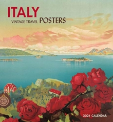 Image for Italy Vintage Travel Posters 2021 Wall Calendar