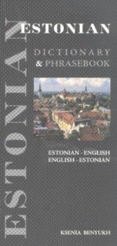 Image for Estonian-English, English-Estonian dictionary & phrasebook