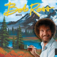Image for Bob Ross the Joy of Painting 2019 Square Wall Calendar