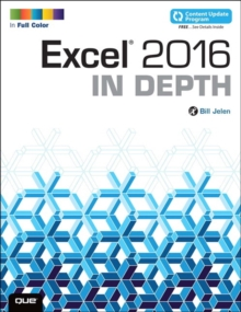 Image for Excel 2016 in depth