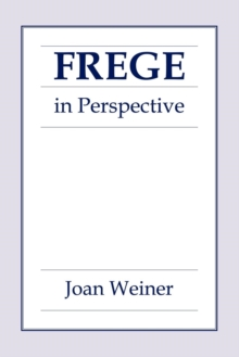 Image for Frege in Perspective