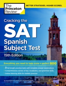 Image for Cracking The Sat Spanish Subject Test, 15th Edition