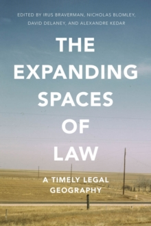 Image for The expanding spaces of law  : a timely legal geography