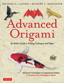 Image for Advanced origami  : an artist's guide to folding techniques and paper