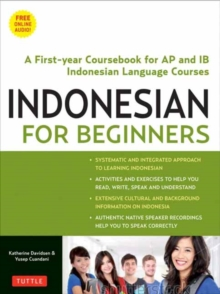 Image for Indonesian for beginners