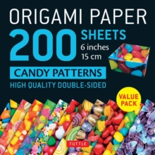 Image for Origami Paper 200 sheets Candy Patterns 6 (15 cm)