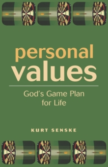 Image for Personal Values : God's Game Plan for Life