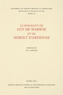 Image for Le rommant de guy de Warwik et de Herolt d'Ardenne